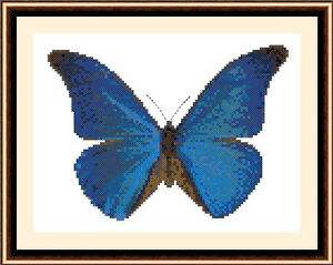 Butterfly 8500, Cross Stitch Kit