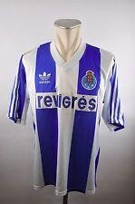 FC Porto Trikot Gr. 40/42 L Adidas Jersey revigres 1992/93 Portugal Home vintage