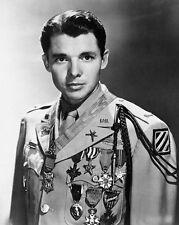 Audy Murphy U.S. Army World War II Congressional Medal Of Honor 8.5x11 Photo