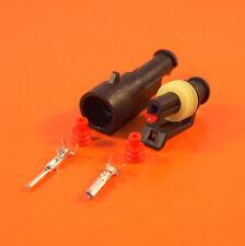 Genuine 1 Way AMP Superseal Elec.Waterproof Wiring Connector 1.5-2.5mm WireSize