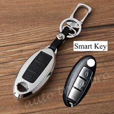 Key Holder Case Bag Fob Ring For Nissan Micra March Versa Tiida Qashqai X-Trail