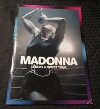 2009 MADONNA Sticky & Sweet Tour Program FN