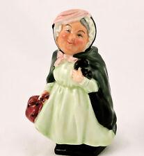 "Royal Doulton Figurine Sairey Gamp 4"" Dickens Early Series Doulton England"