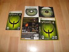 QUAKE 4 DE ID SOFWARE - ACTIVISION PARA LA XBOX 360 CON 2 DISCOS EN BUEN ESTADO
