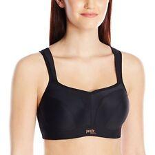 Panache 5021 Black Maximum Support Underwire Sports Bra Workout Gym 34 D
