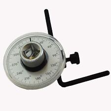 "1/2"" Dr Torque Angle Gauge For Torque Wrench 0360 Degrees TE963"