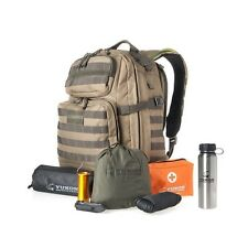 Yukon Outfitters 58-Piece Survival Kit w/bottle Alpha Backpack Coyote/Foliage