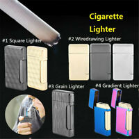 Fashion Metal Lighter Windproof Jet Torch Gas lighters Refillable Smoker Lighter