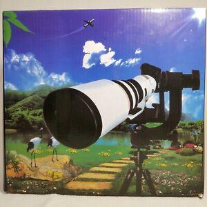 Tripod Panoramic Gimbal Pan Head Ball Mount for Telephoto Lens DSLR Camera 360°