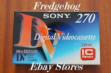 SUPERB QUALITY CASSETTE/ TAPE - SONY- DV-270ME FOR FULL SIZE DVCAM (Not Mini DV)