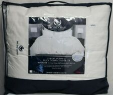 *New* Pacific Coast Feather European White Duck Down Comforter King
