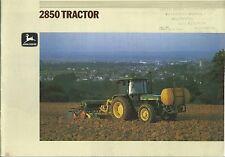 Farm Tractor Brochure - John Deere - 2850 - c1990  (F5390)