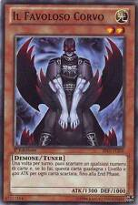 The Fabulous Crow - Fabled Raven YU-GI-OH! BP01-IT205 Ita COMMON STARFOIL 1 and
