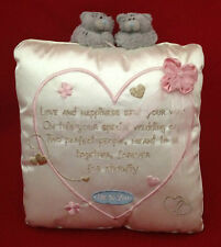 ME TO YOU Ours Tatty Teddy Mariage verset Coussin Oreiller Cadeau