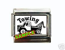 Tow Truck #1 Custom Italian Charm Repo Man cute!
