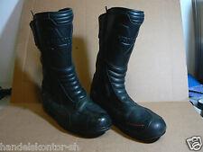 Vanucci VTB1 Motorrad Stiefel Boots Gr. 45 Echtleder Sympatex Tourenstiefel