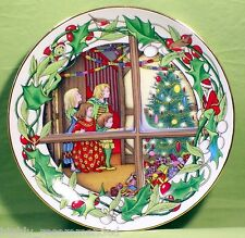 The Fir Tree - Fairy Tale Calendar Plate Collection 1983 Perennis Limited - RARE