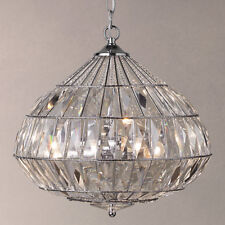 JOHN LEWIS ARABELLA TEARDROP CRYSTAL CEILING LIGHT