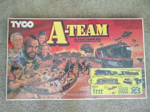 TYCO A-TEAM TRAIN SET