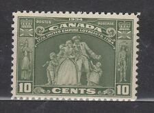 1934 #209 10¢ LOYALISTS STATUE KING GEORGE V LOYALIST ISSUE F-VF