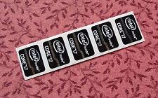 Lot of 10 Intel Core i7 Inside Black Stickers 15.5 x 21mm Ivy Bridge 2012