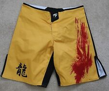 = Mens Shorts size 32 PUNCH TOWN yellow-red surf board shorts
