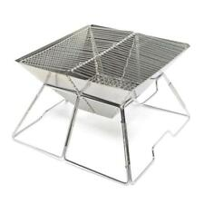 Neuf Eurohike Bbq pliable Camping cuisson manger des barbecues Bbq Argent