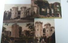 Raglans Castle. Frith Series Postcard x4