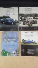 4 Issues of the Prescot Speed Hill Climb Programs for late 2000's