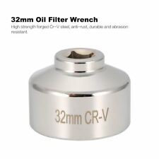 Oil Filter Wrench 32mm Socket Cap Remover Canister Housing Car Repair Tool T9