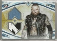 WWE Topps 2020 WWE Undisputed ALEISTER BLACK GOLD DUAL RELIC! 7/10