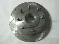 Front Drilled Slotted Brake Rotor 54160 For Ford F-250/350 Super Duty