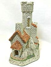 David Winter Cottages The Citadel 1996 Original Box With Coa Near Mint