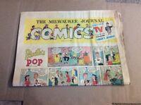 JULY 17 1960 MILWAUKEE JOURNAL Sunday Newspaper Comic Section