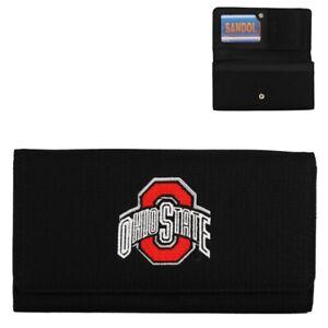 Ohio State University Buckeyes Debbie Clutch Wallet Black