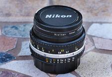 Nikon Series E Chrome rim 50mm f/1.8 Fixed Prime Standard Lens/Vivitar UV EX