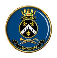 Hmas Jervis Bay Royal Australien Marine Broche Badge