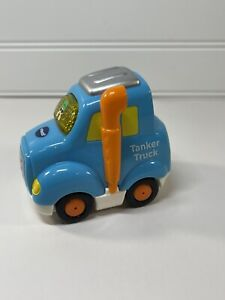 VTech Go Go Smart Wheels Tanker Truck Blue Orange FRONT CAB ONLY