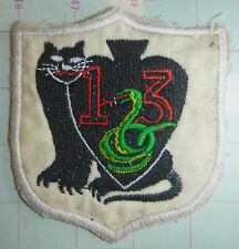 USAF - VARIANT PATCH - 13th TACTICAL FIGHTER - PANTHER PACK - VIETNAM WAR - 0032