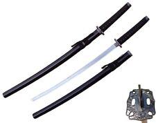"39"" Japanese Samurai Sword Katana w/ Black Scabbard 440 Stainless Steel NINJA"