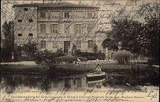 Savigliano Italia piemontese AK 1905 Castello Suniglia Annibale Galateri bambino child