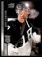 2020-21 UD Series 1 Base #83 Jeff Carter  - Los Angeles Kings