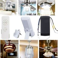 110V-220V Universal Ceiling Fan Lamp Remote Controller Switch Lights Timing Kits