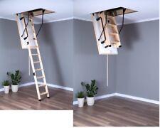Bodentreppe H280 120x60 60x120 Handlauf Füße Speichertreppe EXTRA TERMO