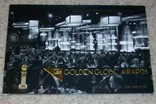 2016 GOLDEN GLOBES GLOBE AWARDS PROGRAM GREAT CONDITION 73rd ANNUAL HFPA