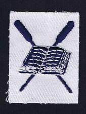 1950's-60's Sea Scouts/Sea Explorers White Twill Cut Edge Storekeeper Insiginia