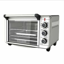 Black Decker Convection Countertop Oven Stainless Steel Kitchen Toaster To3000G
