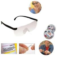 1 Pcs Magnifying Glasses Magnifier Eyewear Reading Glasses 160% Magnification Po