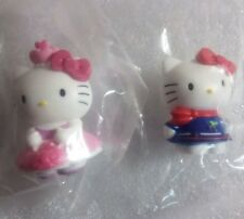 Hello Kitty Mini Figure Sanrio Italy Set of 2 from Panini Sticker Collection /X3