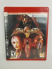 Soul Calibur IV Greatest Hits Sony PlayStation 3 PS3 2008 Complete Tested Works